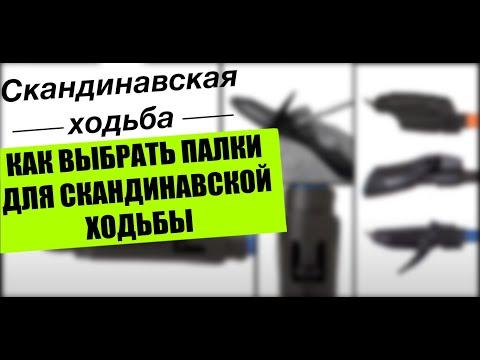 Видео как выбрать палки для ходьбы
