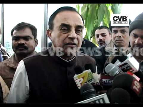 Digvijay Singh Suffering from Brian Cancer - Subramanian Swamy ()