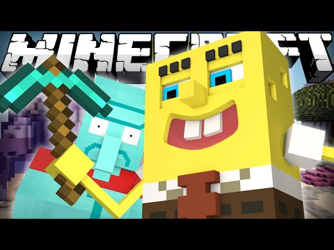 If Spongebob Played Minecraft video
