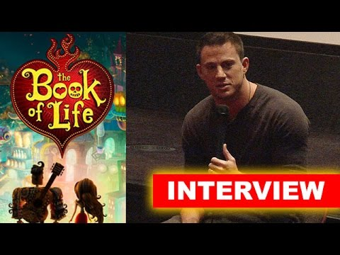 Channing Tatum Interview Today! The Book of Life 2014 - Beyond The Trailer