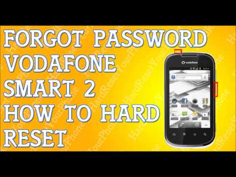Forgot Password Vodafone Smart 2 How To Hard Reset
