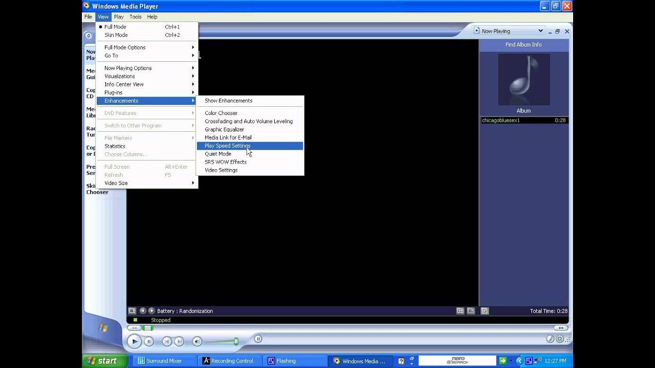 how to play avi on windows xp