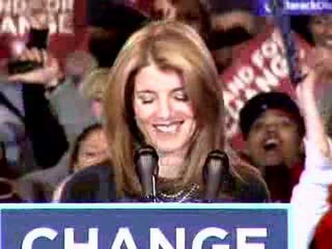 Caroline Kennedy Endorses Barack Obama