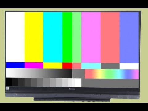Mitsubishi Color Distortion How to Replace DLP Color Wheel TV Repair - DIY Light Engine Removal