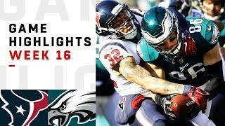 Texans vs. Eagles Week 16 Highlights | NFL 2018