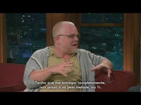 Philip Seymour Hoffman no The Late Late Show [LEGENDADO]