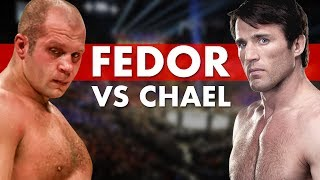 The Fascinating Journey From Fedor to Chael Sonnen