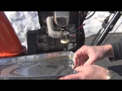 Ariens snowblower 824 carburetor repair