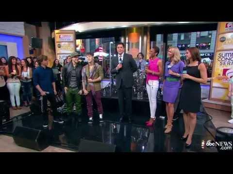 [HD] Emblem3 'Chloe' Live on Good Morning America