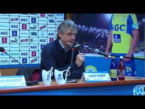 Tisková konference hostujícího trenéra po utkání Teplice - Karviná (21.10.2017)