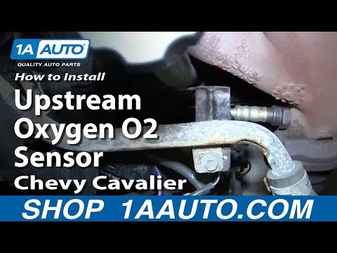 How To Install Replace Front Upstream Oxygen O2 Sensor 2000-02 Chevy Cavalier 2.4L