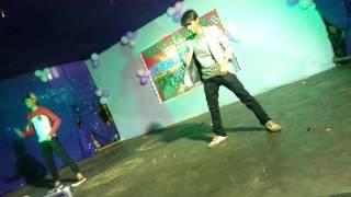 Riba Riba Dance Perfomance Rohit Aryan & Aakash Singh(RN ROBO DANCE CLUB NEW YEAR PROGRAM 2017)