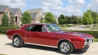 1967 Pontiac Firebird Classic Muscle Car for Sale in MI Vanguard Motor Sales
