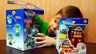 Open Toys Robocar Poli - Roy and Helly Rescue team