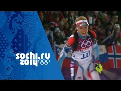 Biathlon - Women's 12.5km Mass Start - Domracheva Wins Gold | Sochi 2014 Winter Olympics