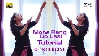 Mohe rang do laal | Bajirao Mastani | dance tutorial by Aditi
