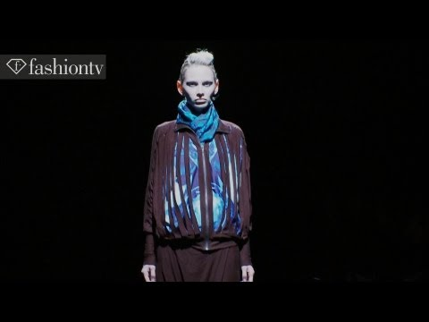 Knit Fabrics on Sculpted Physiques at Johan Ku Fall 2012 | MB Fashion Week Tokyo | FashionTV