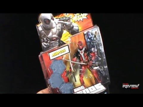 Toy Spot -  Hasbro Marvel Legends  Deadpool (Red Variant)
