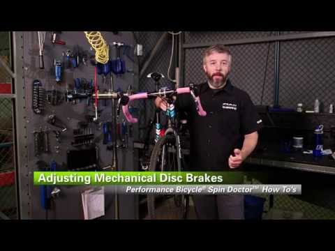 How To Adjust Mechanical Disc Brakes by Performance Bicycle