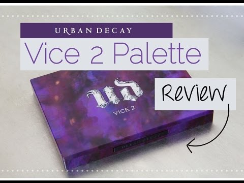 Review:  NEW Urban Decay Vice 2 Palette   Makeup Geek