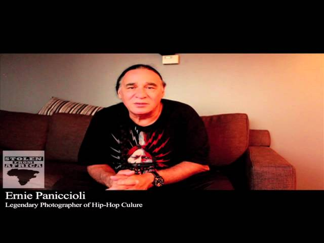 Ernie Paniccioli  speaks on fatherhood/mandhood responsibilities