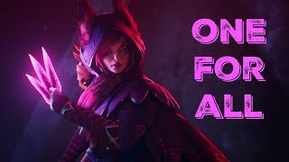 ONE FOR ALL-Xayah gameplay [League of Legends]