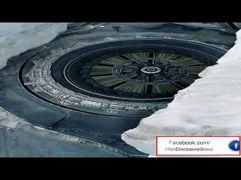 Ovni en la Antartida
