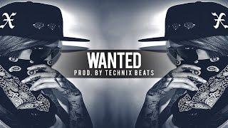 BRUTAL RAP BEAT - 808 Bass Trap Rap Beat Instrumental | Wanted (Prod Technix Beats)