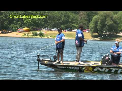 BASS Elite Series tournament pro, Kevin VanDam, teamed up with the Detroit Lions to organize a bass tournament for charity. The first annual event took place on Kent Lake out of Kensington...