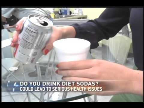 Diet Drinks and Heart Problems in Older Women