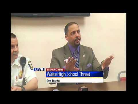 Waite High School threat press conference