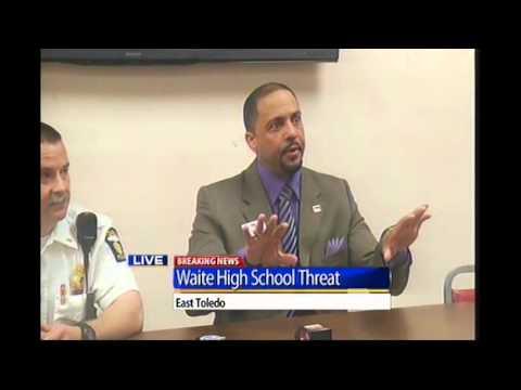 Waite High School threat press conference