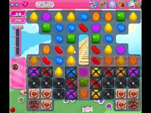 Candy Crush Saga Level 335 - 3 Star - no boosters