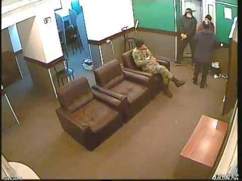 Ограбление букмекеров в Бишкеке