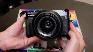 Fujifilm GFX 50R Hands on (Photokina 2018)