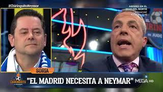 Soria: quotEl Bara NO NECESITA a NEYMAR Es el MADRID el que necesita a un FUTBOLISTA TOP!quot