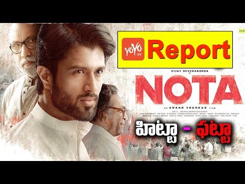 NOTA Telugu Review And Rating | Mehreen Pirzada | Vijay Devarakonda | YOYO TV Channel