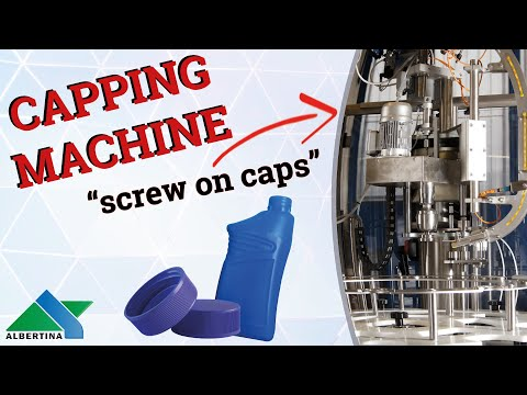 Albertina - Automatic capping machine Capline CN