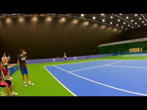 Daarom noemen ze Kirsten Flipkens 'Flipper' (Katowice Open 2016)