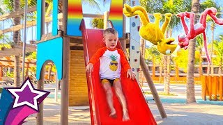 Awesome Playground For Kids at the Carribean Fun Playtime with Max and Children Songs