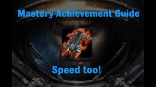 Speed too! Mastery Achievement - Starcraft 2 Wings of Liberty