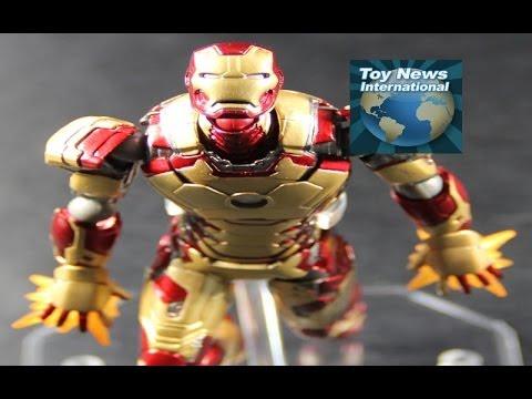 Sci Fi Revoltech 049 Iron Man 3 Mark 42 Figure Review