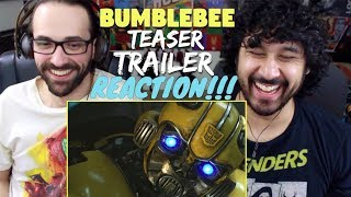 BUMBLEBEE (2018) - Official Teaser TRAILER - REACTION & REVIEW!!!