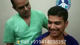 C6-7 severe slip disc treatment without surgery in India by Dr. Yogesh Sharma, Sikar, Rajasthan