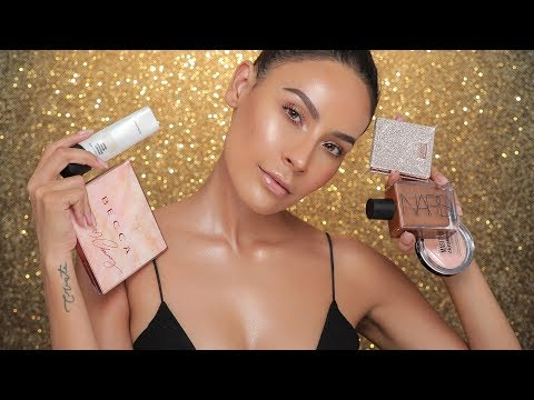 WORLD'S BEST GLOW PRODUCTS?!   DESI PERKINS