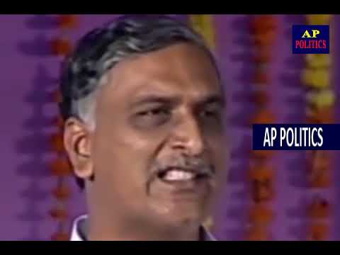 Harish Rao Speech at Public Meeting in Medak   CM KCR AP Politics