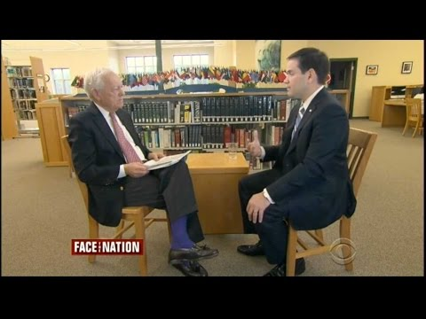 Marco Rubio on Face the Nation