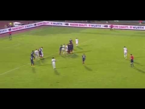 Aleksandar Kolarov Amazing Freekick Serbia 1:1 France (HD)
