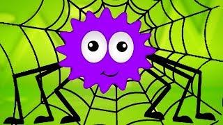 incy wincy nhện | vườn ươm vần điệu | Songs for Baby | Incy Wincy Spider