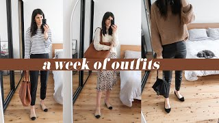WEEK OF OUTFITS: What I Wore at 17 Weeks Pregnant: Spring / Autumn Transitional Style | Mademoiselle
